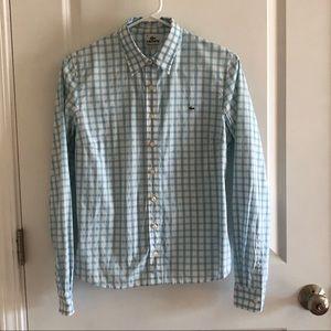 Lacoste Women's Button Down - size 8 - size 40